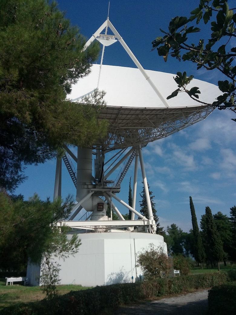 The first Hellenic Radio Telescope